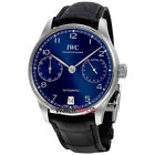 IWC Portugieser Chronograph Automatic Blue Dial Men's Watch IW500710
