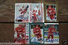 BRETT HULL 2002-2004 Total BAP Pacific Signed Detroit RED WINGS Autograph Lot x6