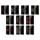 OFFICIAL SLIPKNOT KEY ART LEATHER BOOK WALLET CASE COVER FOR APPLE iPHONE PHONES