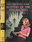 B0028JI4UO The Mystery of the Tolling Bell 1ST Edition Nancy drew Mystery Stor