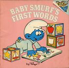 B003S7J936 BABY SMURFS FIRST WORDS by Peyo (1984 Softcover 8 x 8 inches 32 pag