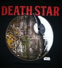 STAR WARS Official REALTREE Camo DEATH STAR Adult T-Shirt Size XL Xtra Large NEW
