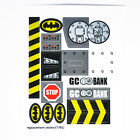 CUSTOM sticker for LEGO 7781 The Batmobile Two Faces Escape
