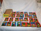 Vintage 1988 Topps Dinosaurs Attack! 27 Unopened Packs and Box Lot
