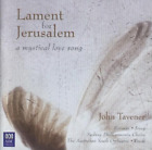 Lament for Jerusalem (Woods, Australian Youth Orch, Rozario)  CD NEU