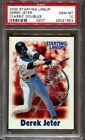 PSA 10 2000 KENNER STARTING LINEUP SLU DEREK JETER pop 3 CLASSIC DOUBLES