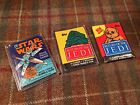 Star Wars Wax Packs Lot Of 3 Movie Cards Topps 1977 1983