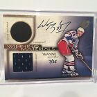1999 UD WINNING MATERIALS WAYNE GRETZKY GAME USED PACK, JERSEY AUTO - 7 25