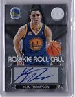 2012 13 Klay Thompson Totally Certified Rookie Roll Call RC Auto Warriors