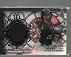 * ANDREW MCCUTCHEN * 2015 TOPPS TRIBUTE BLACK REFRACTOR JERSEY PATCH # 50