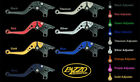 MOTO GUZZI 2006-16 GRISO PAZZO RACING ADJUSTABLE LEVERS -  ALL COLORS / LENGTHS