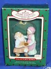 Hallmark Ornament Mr and Mrs Claus #2 1987 Home Cooking Santa Cookie Used #2