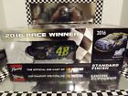 2016 JIMMIE JOHNSON LIONEL LOWES HOMESTEAD RACED WIN AUTOGRAPHED 124