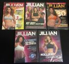 LOT OF 5 NEW JILLIAN MICHAELS KILLER SERIES DVD Exercise Abs Body Buns Thighs