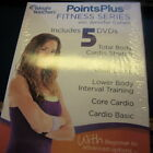 Weight Watchers Points Plus Fitness Series With Jennifer Cohan 5 Dvd Set