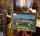 1970S GENESEE BEER GREAT OUTDOORS LIGHTED SIGN 1937 PACKARD