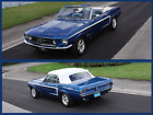 1967 Ford Mustang 1967 Ford Mustang Convertible GT Package 289 4 speed CLICK See Full Description