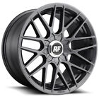 4 NEW Rotiform R141 RSE 17x8 4x100 4x1143 +40mm Gunmetal Wheels Rims