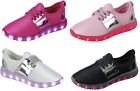 Girls Light Up LED Shoes For Baby Toddler And Youth Kids Athletic Sneakers