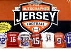 2017 LEAF AUTOGRAPHED JERSEY EDITION FOOTBALL - 4 BOX LOT ( 1 2 CASE )