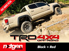 2x Trd 4x4 Off Road Toyota Tacoma Tundra Truck Bed Side Vinyl Decals Stickers