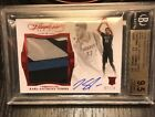 2015-16 Panini Flawless Karl Anthony Towns Rookie Patch Auto Bgs 9.5 Quad!