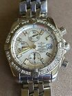 Breitling Windrider Evolution A13356 Chronograph Diamond Bezel Automatic Watch
