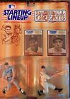 1989 KENNER STARTING LINEUP==BASEBALL GREATS==MICKEY MANTLE & JOE DiMAGGIO