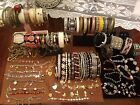 Lot of over 80 Bracelets Cloisonne Coro Alice Seely More