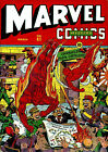 MARVEL MYSTERY COMICS 41 1943 PHOTOCOPY BOOK HUMAN TORCH SUN MARINER TIMELY