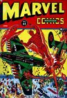 MARVEL MYSTERY COMICS 44 1943 PHOTOCOPY BOOK HUMAN TORCH SUN MARINER TIMELY