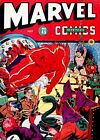 MARVEL MYSTERY COMICS 45 1943 PHOTOCOPY BOOK HUMAN TORCH SUN MARINER TIMELY