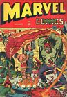 MARVEL MYSTERY COMICS 50 1943 PHOTOCOPY BOOK HUMAN TORCH SUN MARINER TIMELY