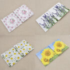 Home Flower Printed Napkins Paper Double layers Accessories Wedding Parties 20x