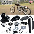 80cc 2 Stroke Engine Motor Kit for Motorized Bicycle Bike Gas Powered Black