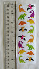 Mrs Grossman CHUBBY DINOSAURS Strip of Dinosaur Stickers RETIRED
