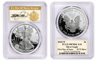 2018 W Proof 1 Silver Eagle PCGS PR70 FIRST DAY OF ISSUE THOMAS CLEVELAND FUN