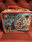 Vintage 1985 Aladdin Thundercats Metal Lunch Box With Thermos