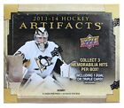 2013-14 Upper Deck Artifacts NHL hockey cards Hobby Box