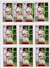 (10) 2012 Topps Bryce Harper Screaming Variation SP RC ROOKIE #661 LOT MINT QTY