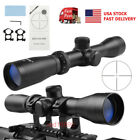 US Long Eye Relief 2 7x32 Optics Rifle Scope Sight with Mount for Hunting