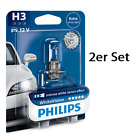Philips H3 WhiteVision Vision Blue 2er Set (Duo) 12336WHVB1