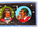 Antique Early Comic Antisemitic Jewish Glass Magic Lantern Large Slide