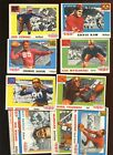 1955 Topps All American Football Card Lot Starter Set 17 Different EX EXMT