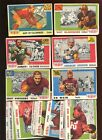 1955 Topps All American Football Card Lot Starter Set 37 Different G VG+