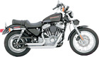 New Vance  Hines Shortshots staggered exhaust Harley Davidson sportster 99 03