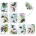 HUMMING ALONG 10 Assorted All Occasion Note Cards Stationery Notecards