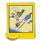 J8296BDG Jumbo Funny Birthday Card If Only With Envelope NobleWorks Cards