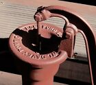 Vintage Cast Iron Well Water Hand Pump; Expertly Cleaned, Restored,