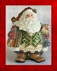 SALE!! MINT!! IN BOX Fitz and Floyd ST. NICK SANTA TOYS Centerpiece COOKIE JAR
